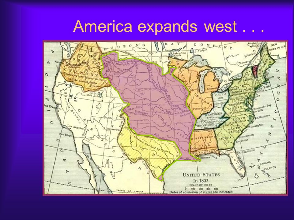 Louisiana Purchase, Cont. A surprising offer – French officials offered to sell all of Louisiana to the United States. Why? France needed the money to