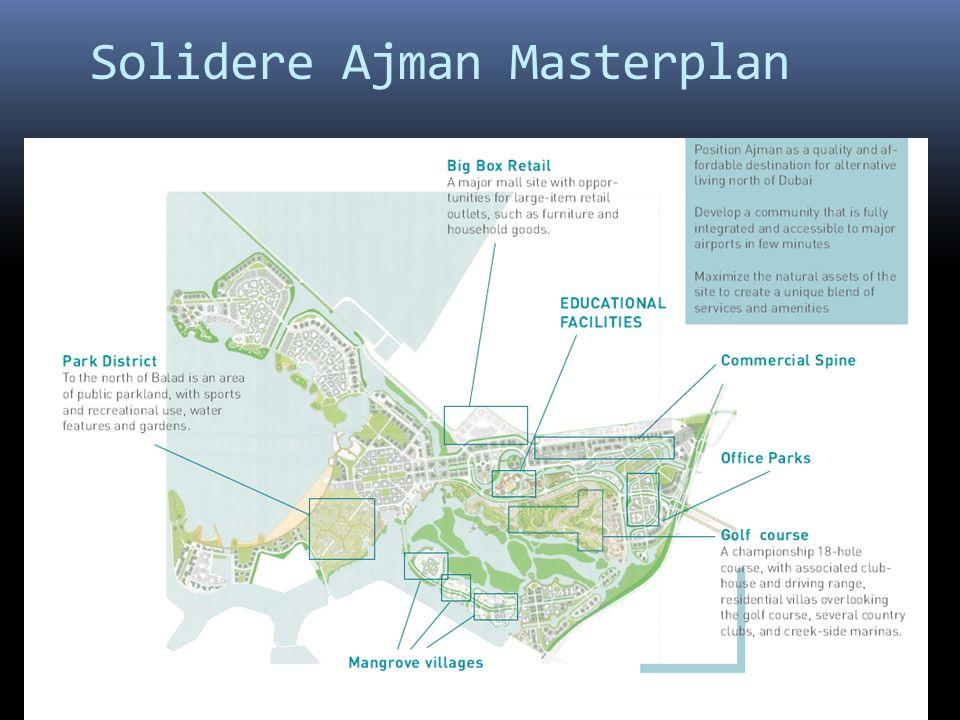 Solidere Ajman Masterplan