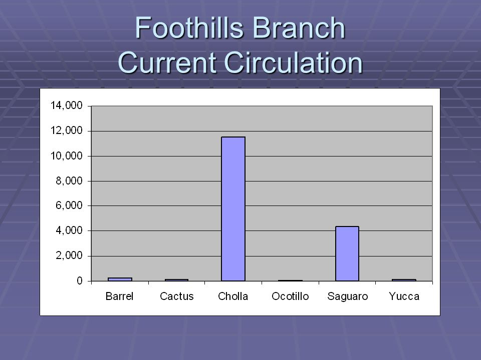 Foothills Branch Current Circulation