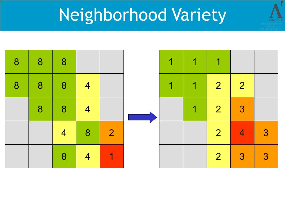 Neighborhood Variety 88888488484828411111221231243233