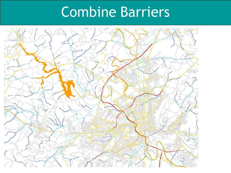 Combine Barriers