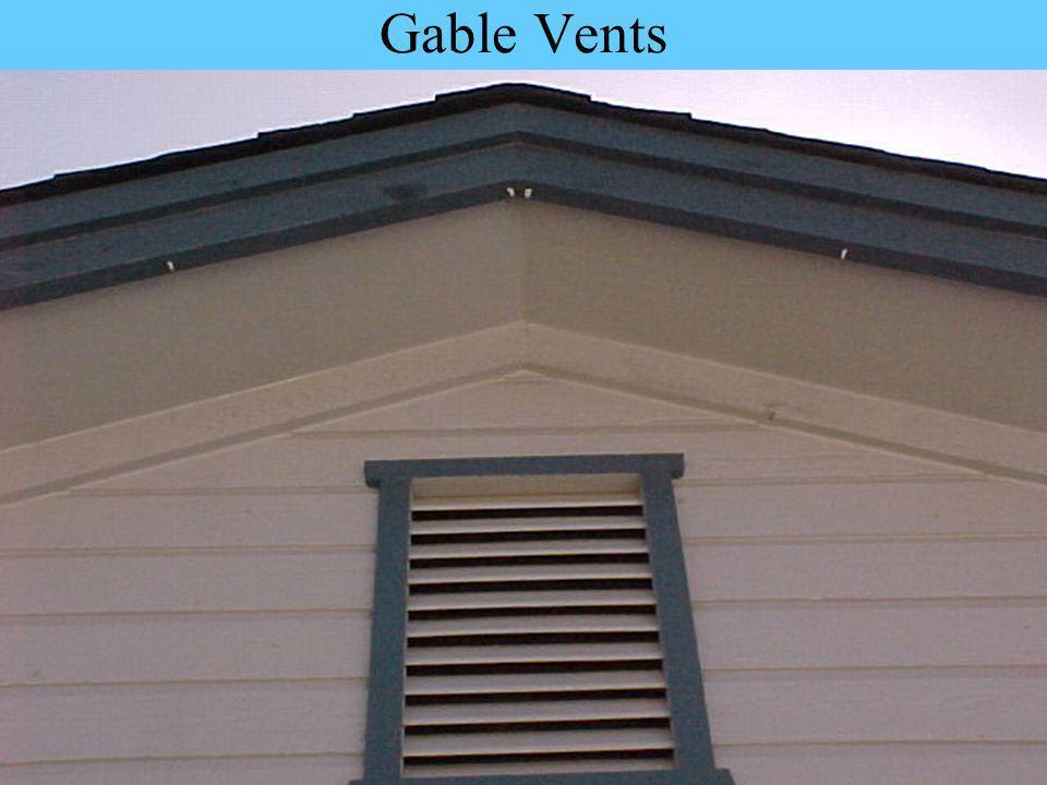 Gable Vents