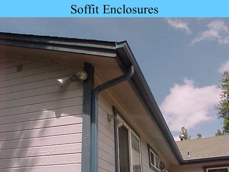 Soffit Enclosures