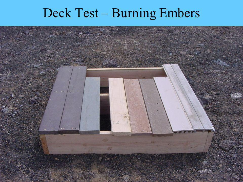 Deck Test – Burning Embers