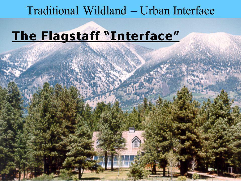 Traditional Wildland – Urban Interface