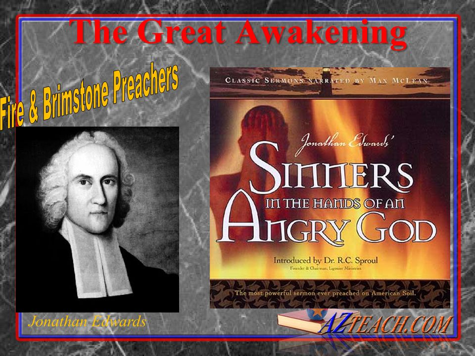 The Great Awakening Jonathan Edwards