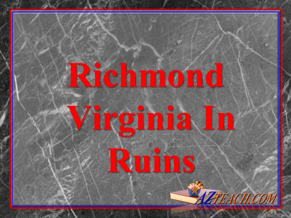 Richmond Virginia In Ruins