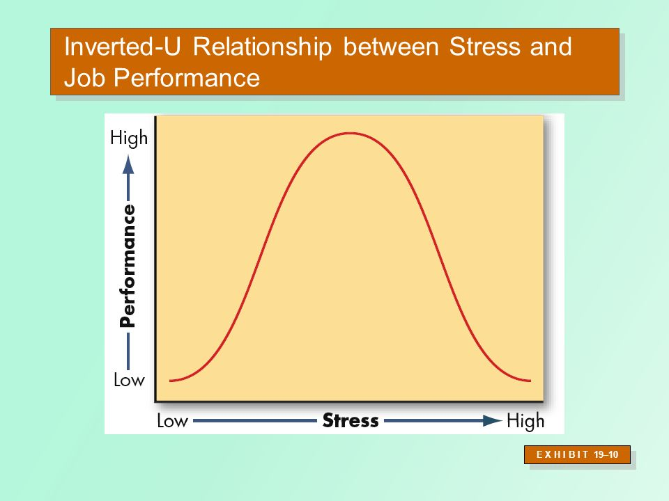 Potential Sources of Stress (contd) Individual Factors –Family and personal relationships –Economic problems from exceeding earning capacity –Personal