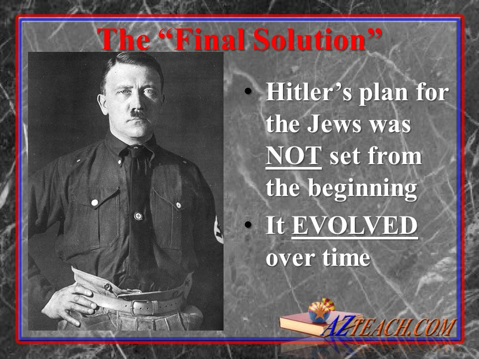 4 Stages of the Holocaust Identification Identification Expropriation Expropriation Concentration Concentration Extermination Extermination