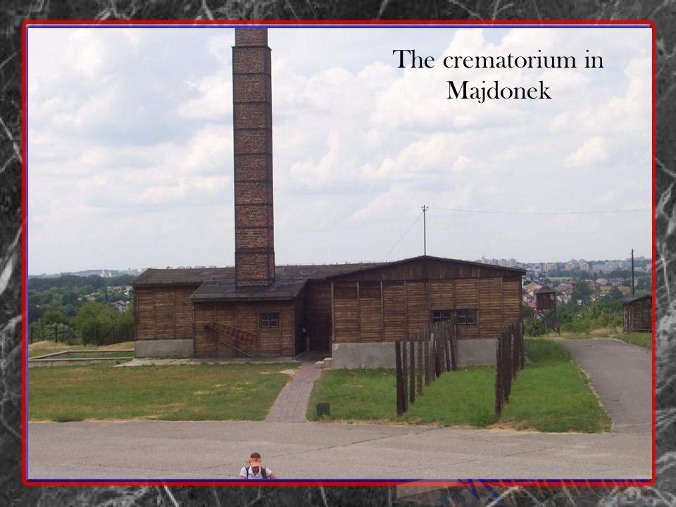 The crematorium in Majdonek