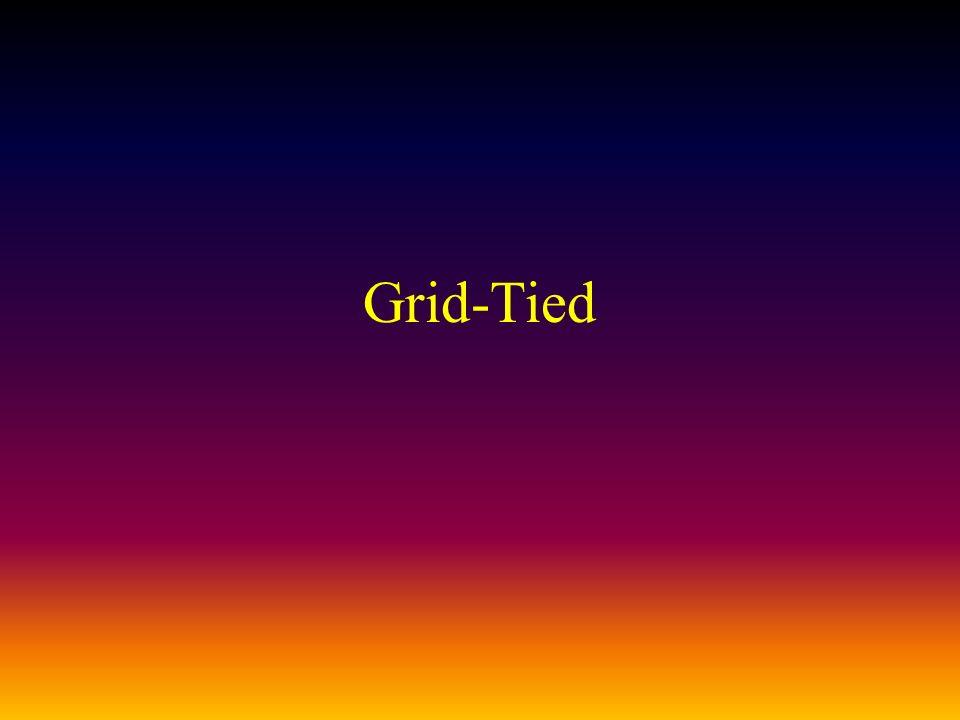 Grid-Tied