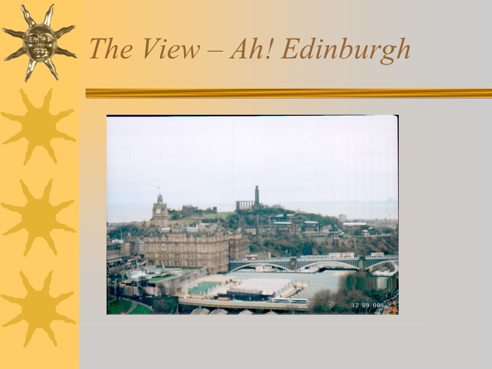 The View – Ah! Edinburgh