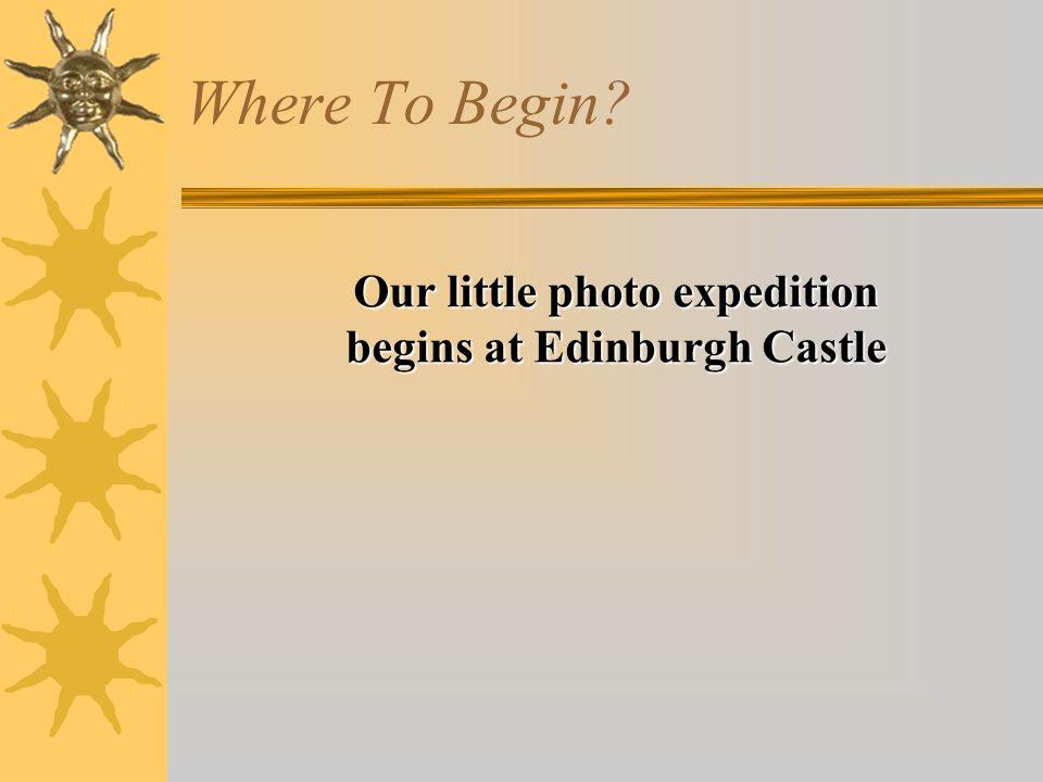 (Sat 9 th Dec)Edinburgh Castle