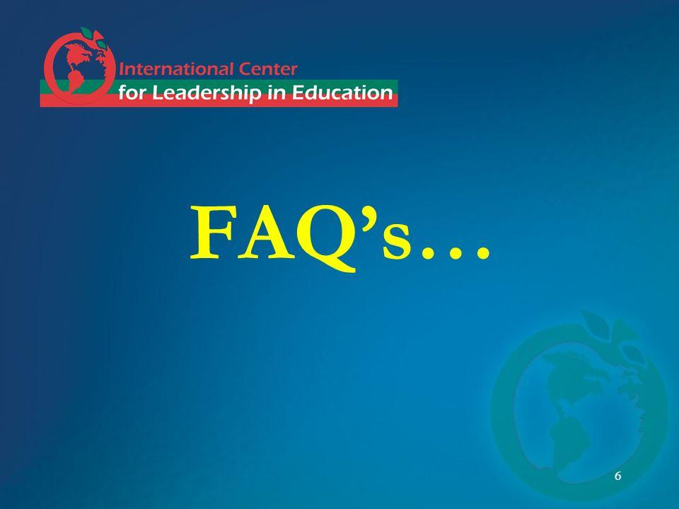 6 FAQs…