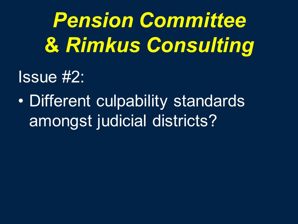 Pension Committee & Rimkus Consulting Issue #2: Different culpability standards amongst judicial districts?