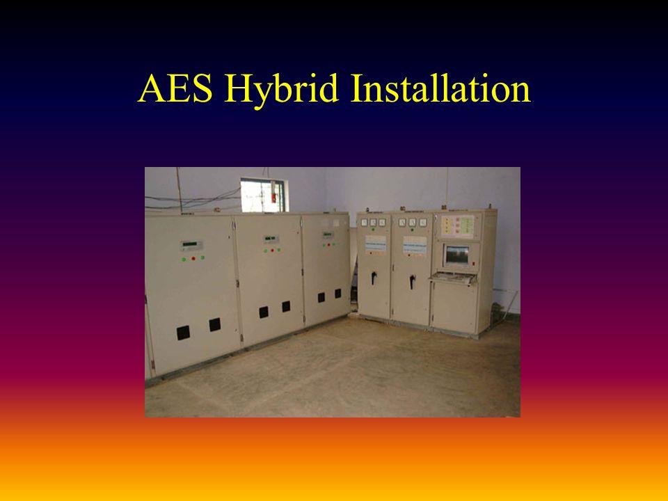 AES Hybrid Installation