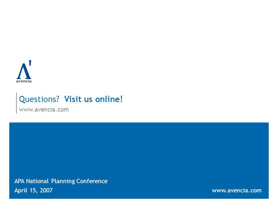 Questions. Visit us online.