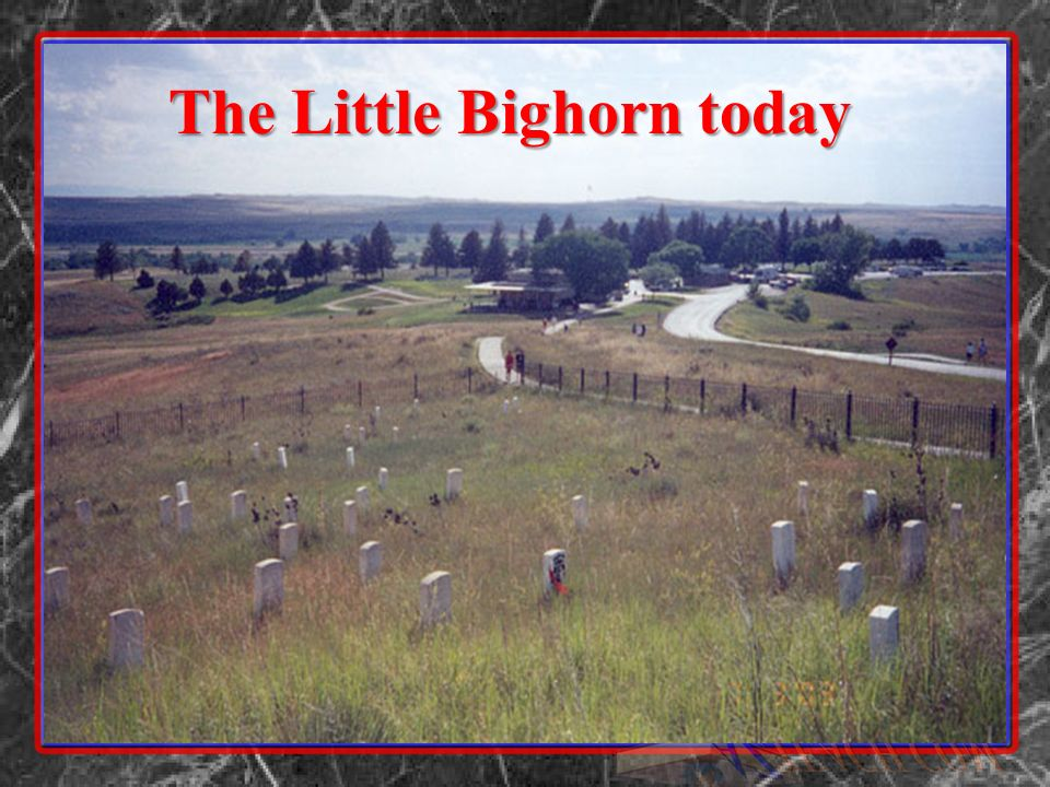 The Little Bighorn today