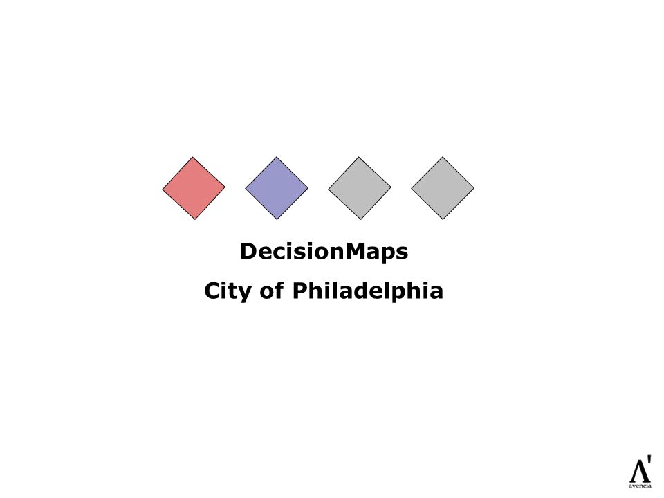 DecisionMaps City of Philadelphia
