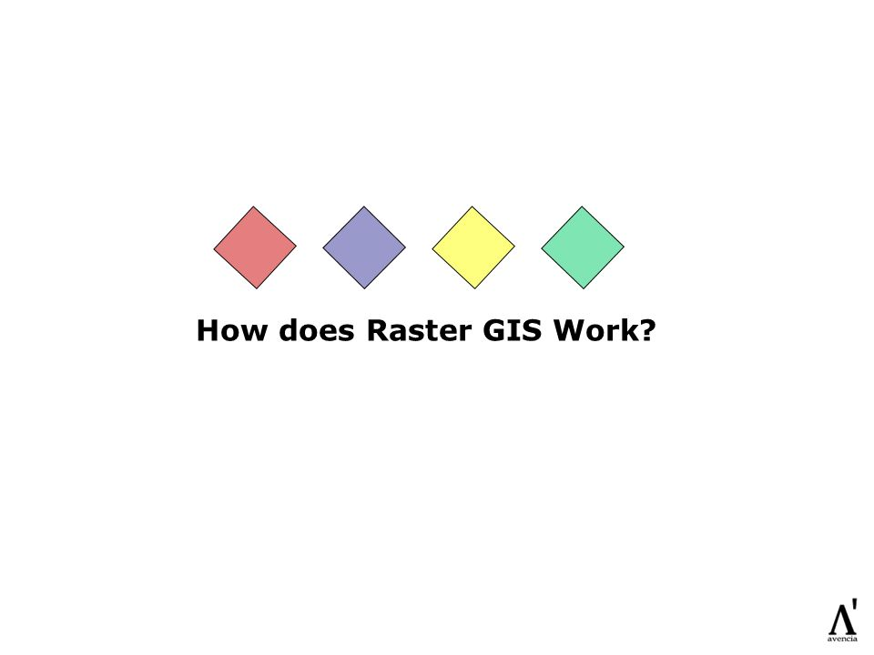 How does Raster GIS Work?