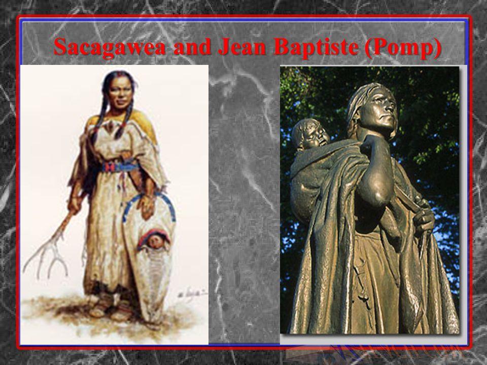 Sacagawea and Jean Baptiste (Pomp)