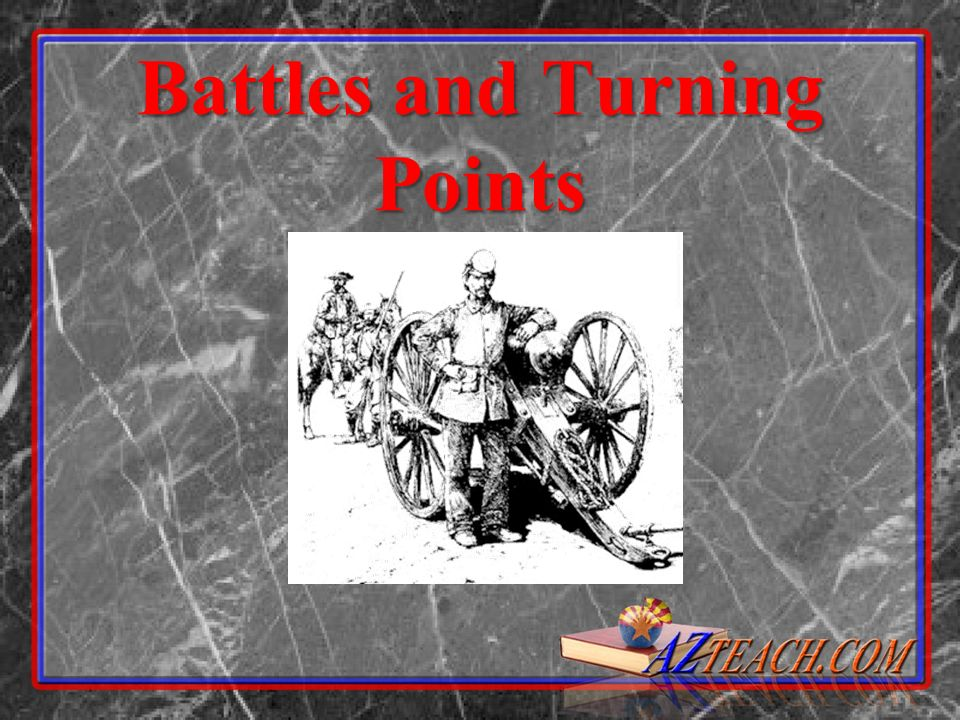 Battles and Turning Points