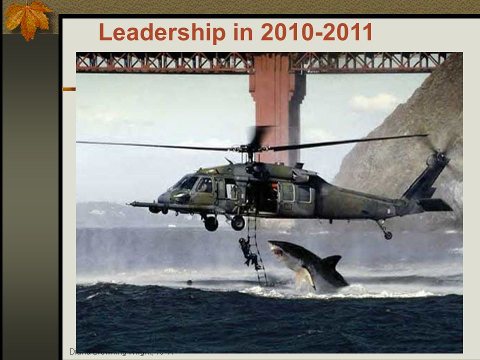Leadership in 2010-2011