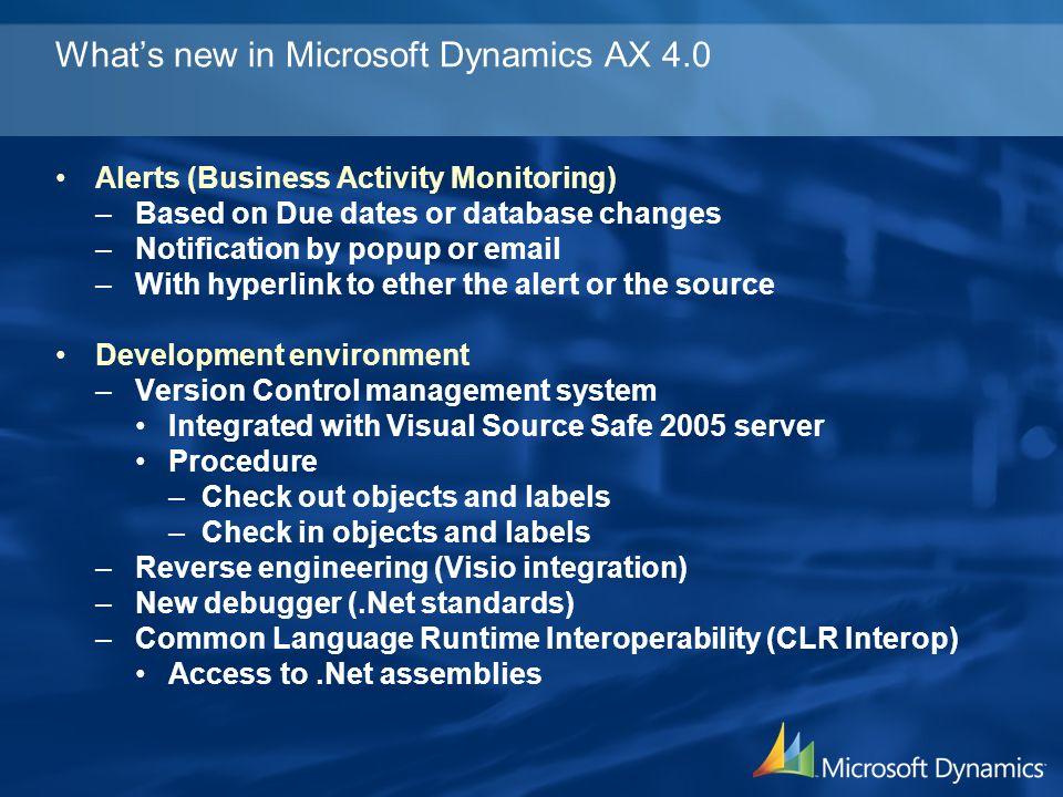 Microsoft Dynamics AX – Enterprise Portal