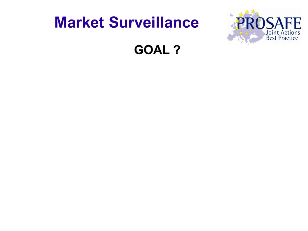 GOAL ? Market Surveillance