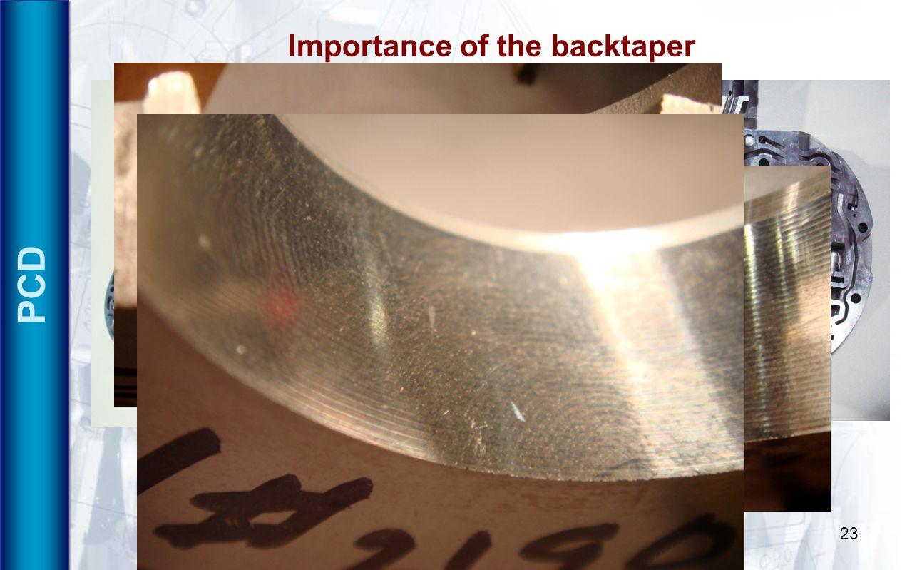 Viktor P. Astakhov IMTS 200823 PCD Importance of the backtaper