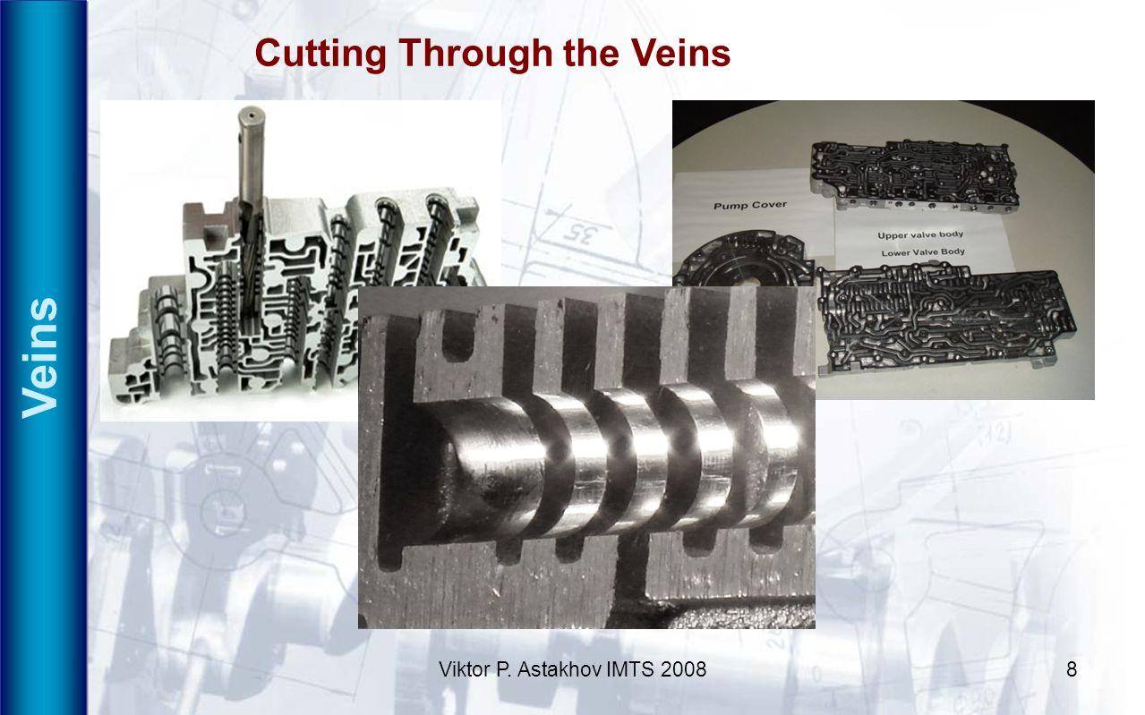 Viktor P. Astakhov IMTS 20088 Veins Cutting Through the Veins