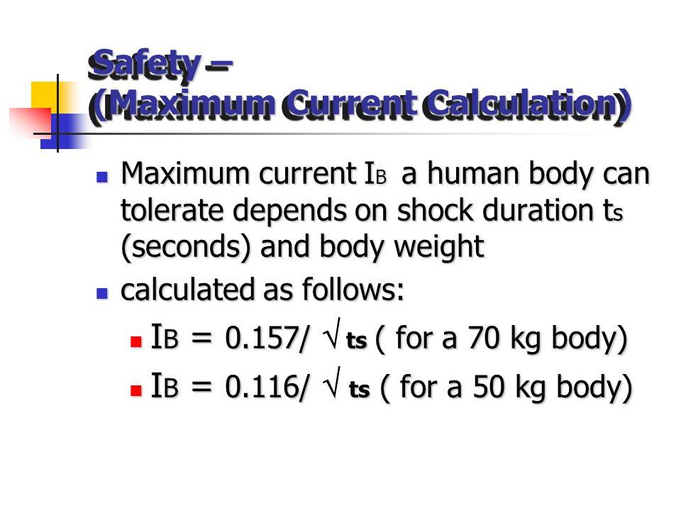 SafetySafety I (Fault Current) 9 kV 8 kV 7 kV 10 kV Potential Step voltage = 1kV Ouch!!! f