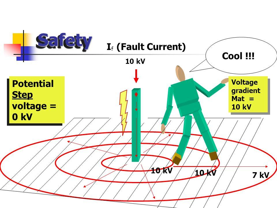 V Touch = (1000 + 1.5 0.116/ ts - ( for a 50 kg body) V Touch = (1000 + 1.5 ) 0.116/ ts - ( for a 50 kg body) V Touch = (1000 + 1.5 0.116/ (.5) = 176