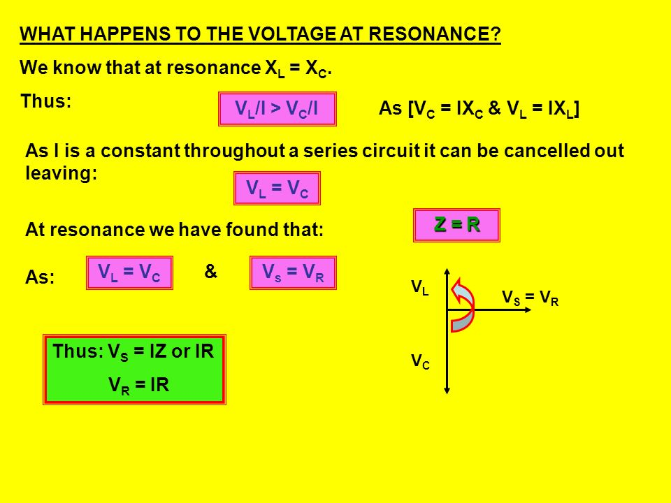 Example 11: A 120Ω resistor, a 2.00H inductor and a 4.50 F capacitor are connected in series to a 15V variable frequency AC supply. Calculate the reso