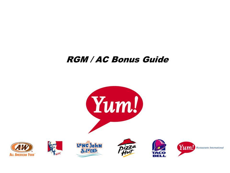 RGM / AC Bonus Guide