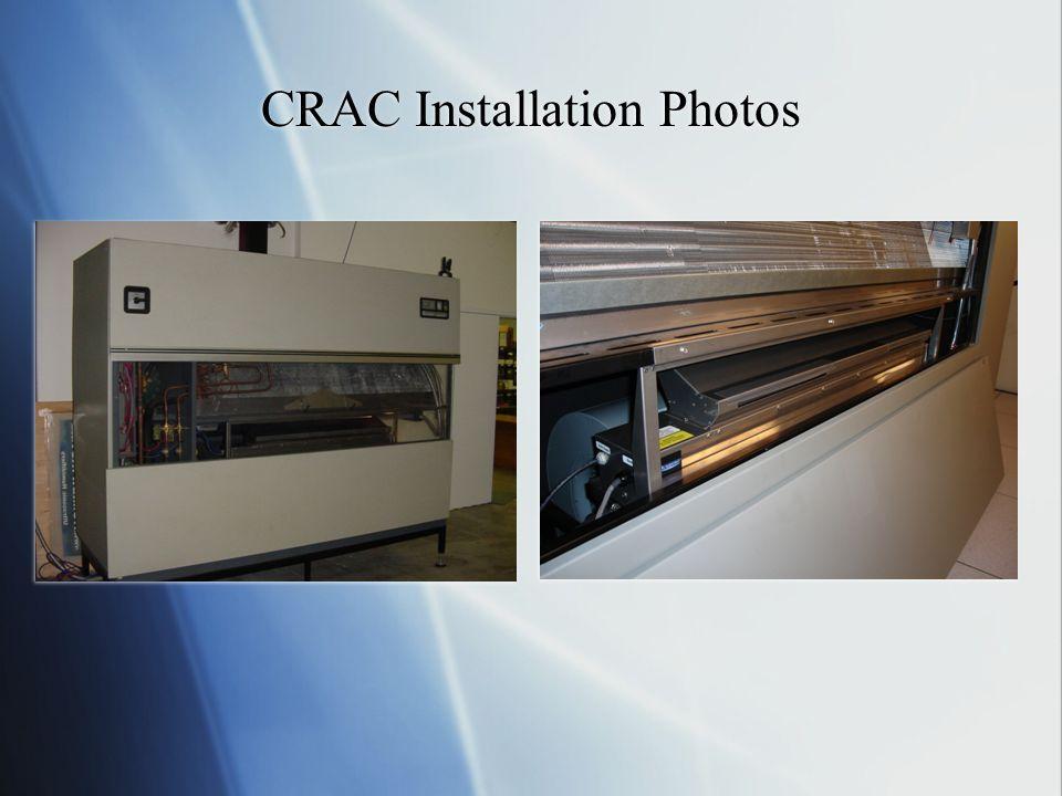CRAC Installation Photos