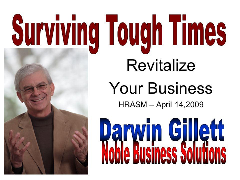 Revitalize Your Business HRASM – April 14,2009