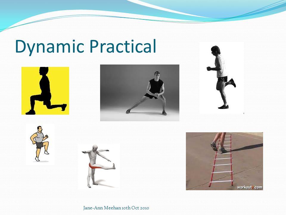 Dynamic Practical Jane-Ann Meehan 10th Oct 2010