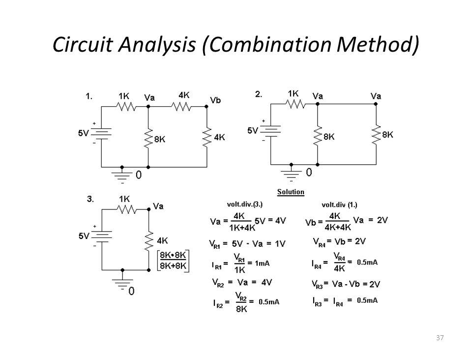 37 Circuit Analysis (Combination Method)