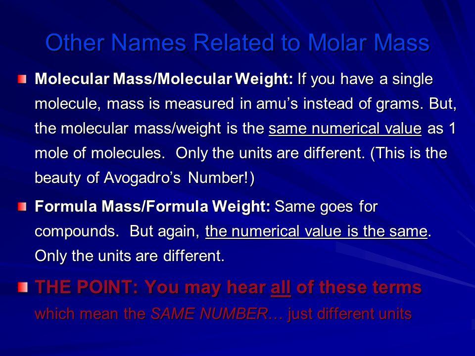 Atomic molar mass of H = 1.01g/mol x 2 = 2.02 g/mol Atomic molar mass of O = 16.00g/mol x 1 = 16.00g/mol Molar mass of water H 2 O is 18.02g/mol Molar