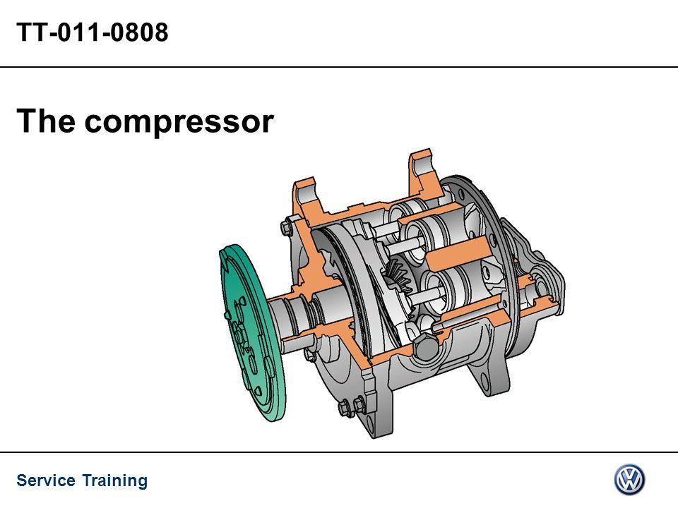 Service Training TT-011-0808 The compressor