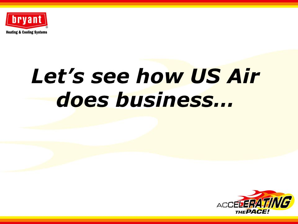 Lets see how US Air does business…