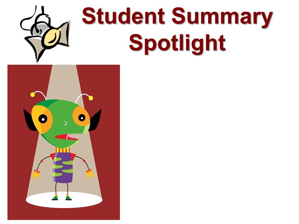 Student Summary Spotlight 19