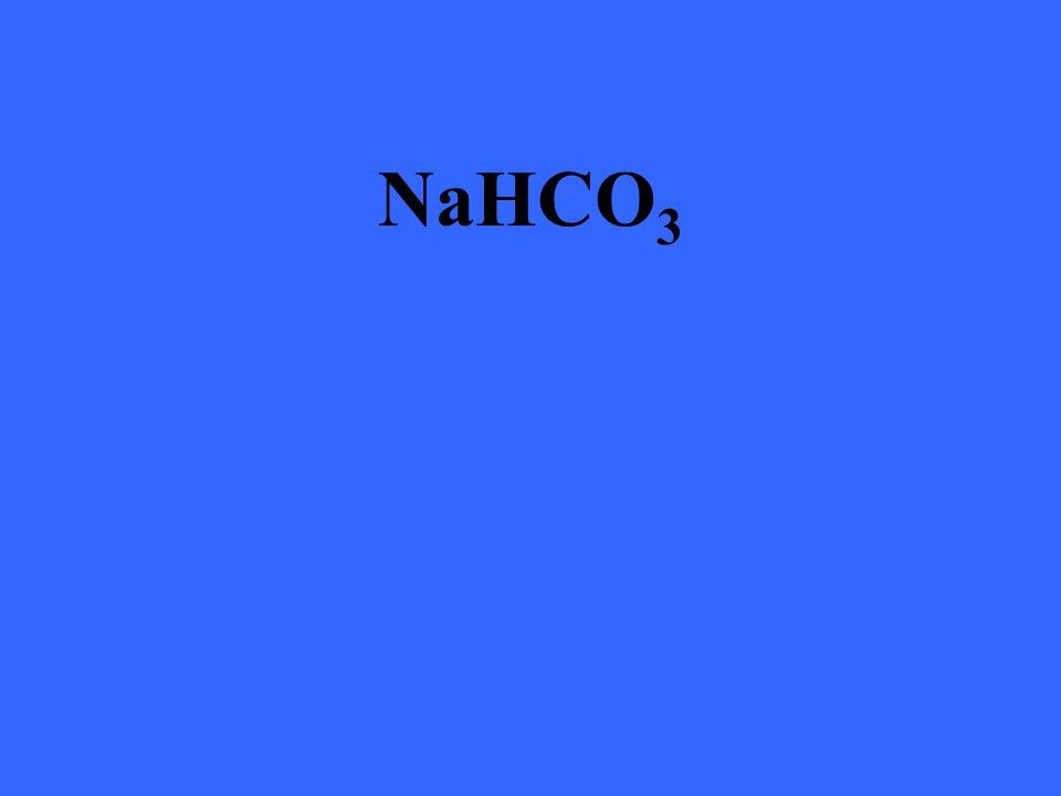 NaHCO 3