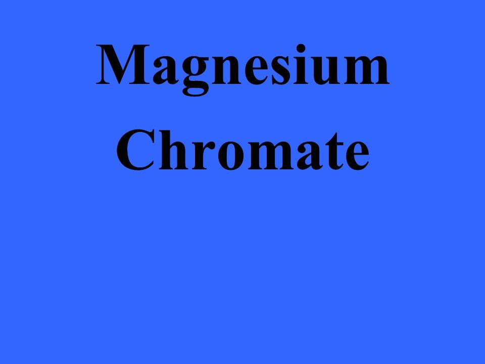 Magnesium Chromate