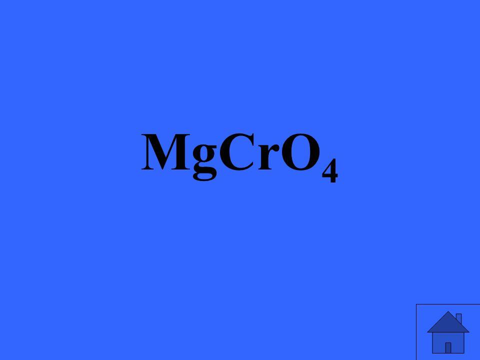 MgCrO 4