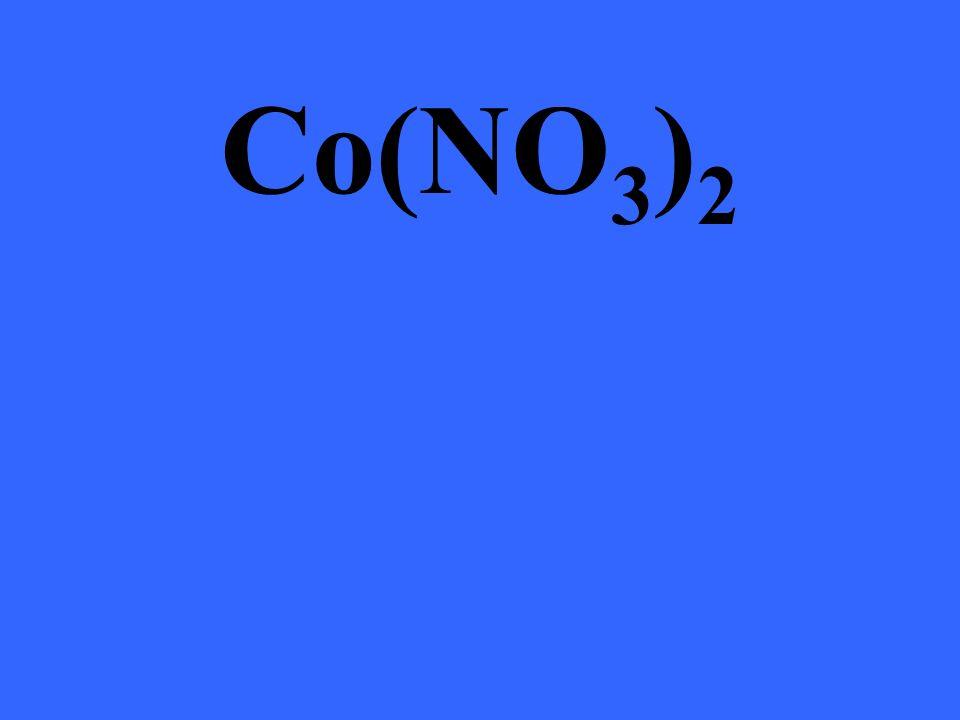 Co(NO 3 ) 2