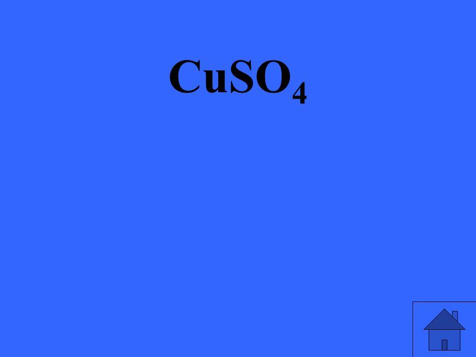 CuSO 4