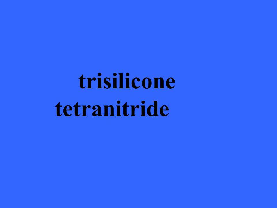 trisilicone tetranitride