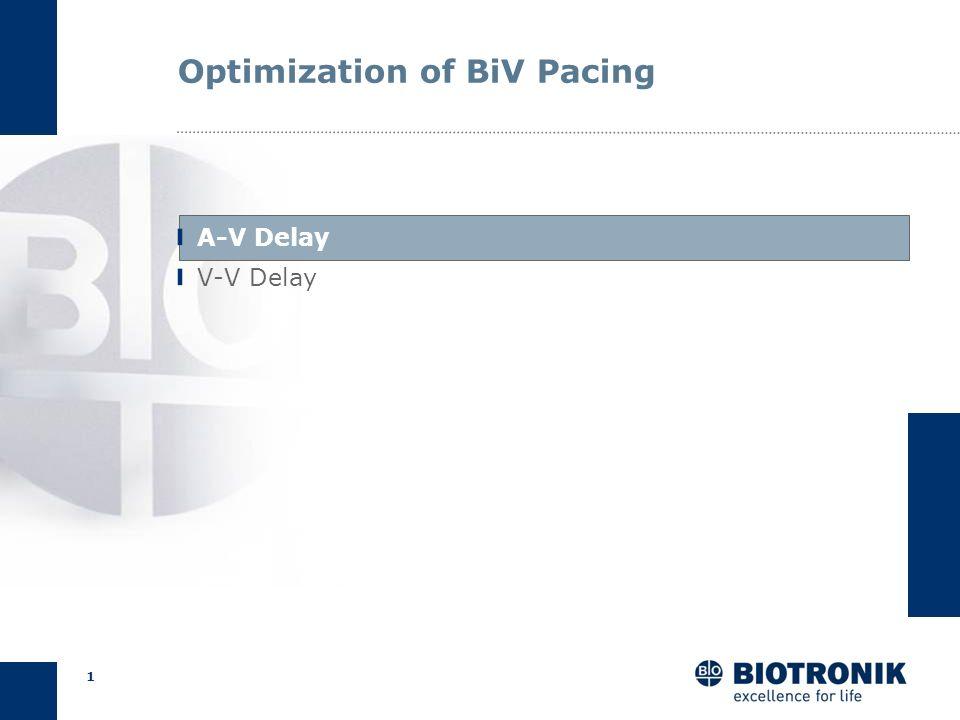 0 Optimization of AV and VV Delays Lumax 540 CRM Training and Education